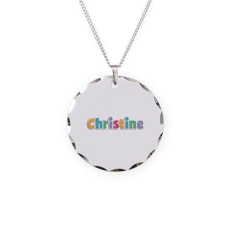 Christine Spring11 Necklace Circle Charm