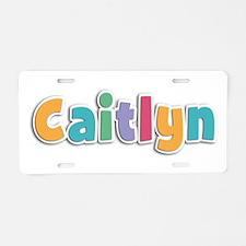 Caitlyn Spring11 Aluminum License Plate