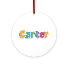 Carter Spring11 Round Ornament