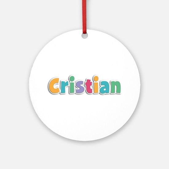 Cristian Spring11 Round Ornament