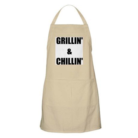GRILLIN AND CHILLIN Apron