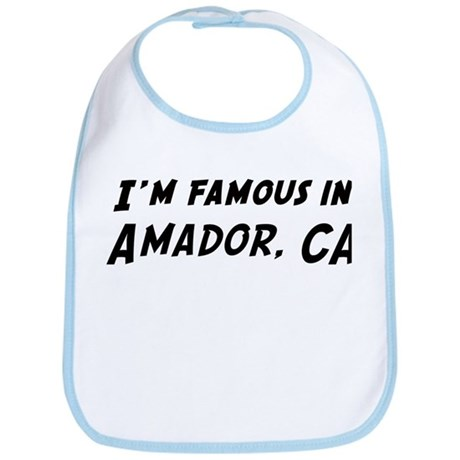 Famous in Amador Bib