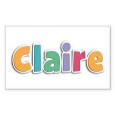Claire Spring11 Rectangle Decal