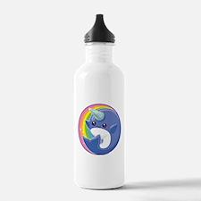 Kawaii Narwhal Water Bottle