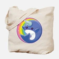 Kawaii Narwhal Tote Bag
