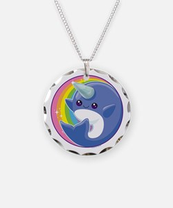 Kawaii Narwhal Necklace