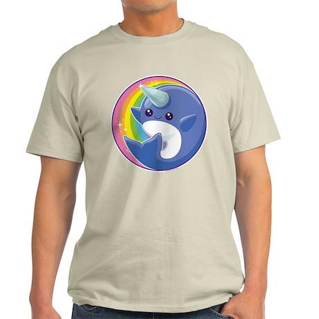 Kawaii Narwhal Light T-Shirt