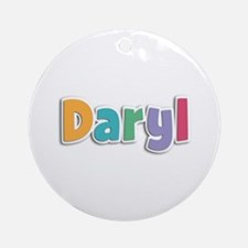 Daryl Spring11 Round Ornament