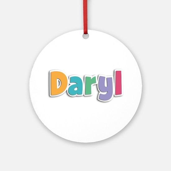 Daryl Spring11 Round Ornament