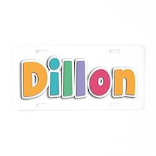 Dillon Spring11 Aluminum License Plate