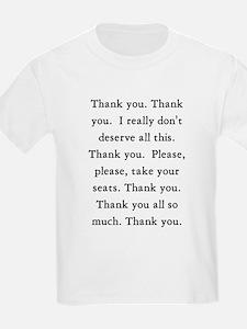 Thank You Kids T-Shirt