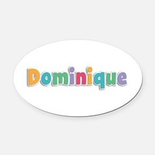 Dominique Spring11 Oval Car Magnet