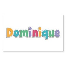 Dominique Spring11 Rectangle Decal