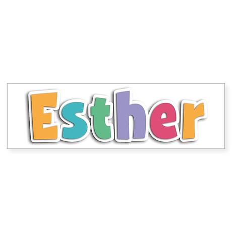 Esther Spring11 Bumper Sticker