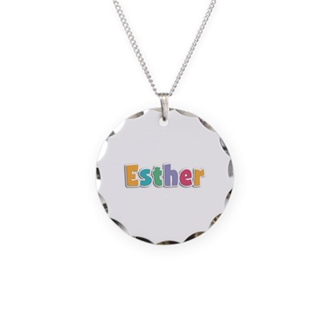 Esther Spring11 Necklace Circle Charm