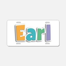 Earl Spring11 Aluminum License Plate
