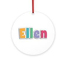 Ellen Spring11 Round Ornament
