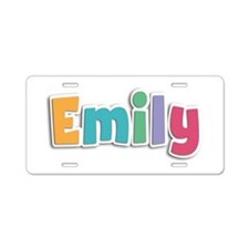 Emily Spring11 Aluminum License Plate