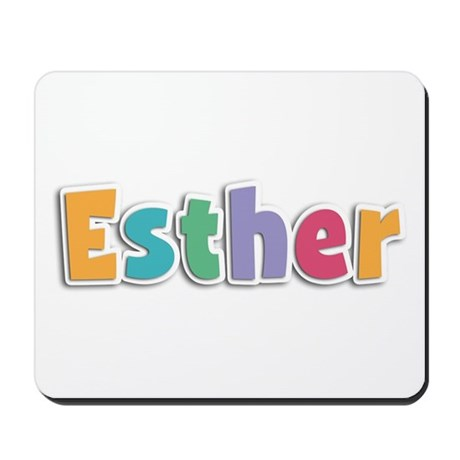 Esther Spring11 Mousepad