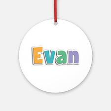 Evan Spring11 Round Ornament