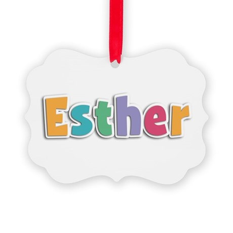 Esther Spring11 Picture Ornament