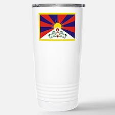 Tibet Flag Travel Mug