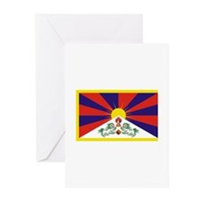 Tibet Flag Greeting Cards (Pk of 20)