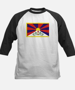 Tibet Flag Kids Baseball Jersey