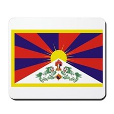 Tibet Flag Mousepad
