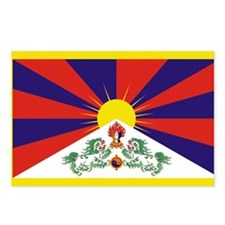 Tibet Flag Postcards (Package of 8)