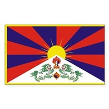 Tibet Flag Decal