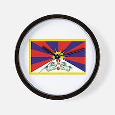 Tibet Flag Wall Clock