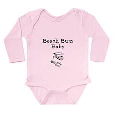 Beach Bum Baby Long Sleeve Infant Bodysuit