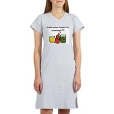 Dog Hair Condiment Women's Nightshirt