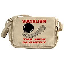 Socialism The New Slavery Messenger Bag
