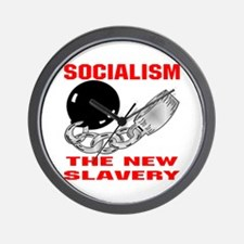 Socialism The New Slavery Wall Clock