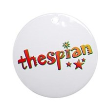 Thespian Stars Ornament (Round)