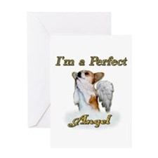 Im a Perfect Angel Dott Greeting Card