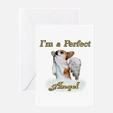 Im a Perfect Angel Dott Greeting Card