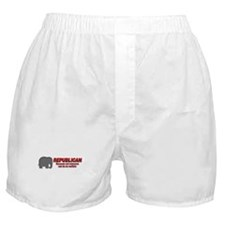 REPUBLICAN quote Boxer Shorts