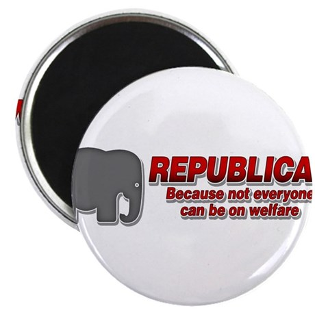 "REPUBLICAN quote 2.25"" Magnet (10 pack)"