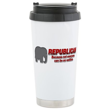 REPUBLICAN quote Stainless Steel Travel Mug