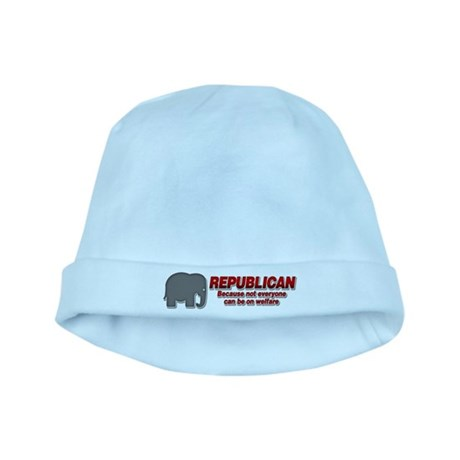 REPUBLICAN quote baby hat