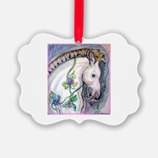 Horse! Carousel, fun art! Ornament
