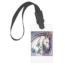 Horse! Carousel, fun art! Luggage Tag
