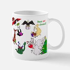 Christmas Card For The World Mug
