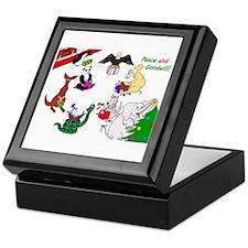 Christmas Card For The World Keepsake Box