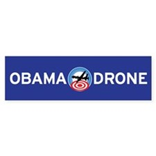 OBAMA DRONE Bumper Bumper Sticker