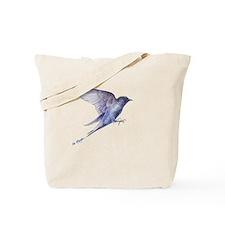 Purple Martin in flight lite T Tote Bag