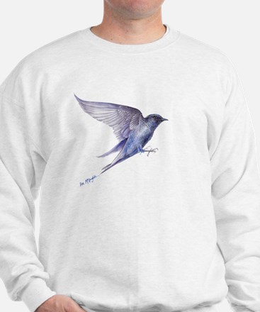 Purple Martin in flight lite T Jumper